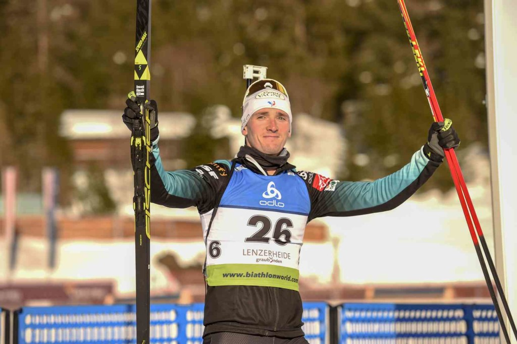 24.01.2019, Lenzerheide, Switzerland (SUI): Fabien CLAUDE (FRA-26) - IBU Cup, women sprint, Lenzerheide (SUI). contact@vithiol.fr. © Vianney THIBAUT. Every downloaded picture is fee-liable.
