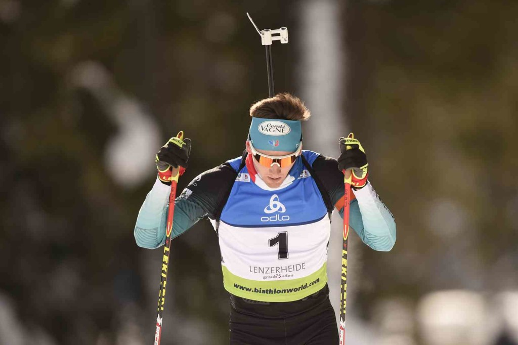 26.01.2019, Lenzerheide, Switzerland (SUI): Fabien CLAUDE (FRA-1) - IBU Cup, women poursuit, Lenzerheide (SUI). contact@vithiol.fr. © Vianney THIBAUT. Every downloaded picture is fee-liable.