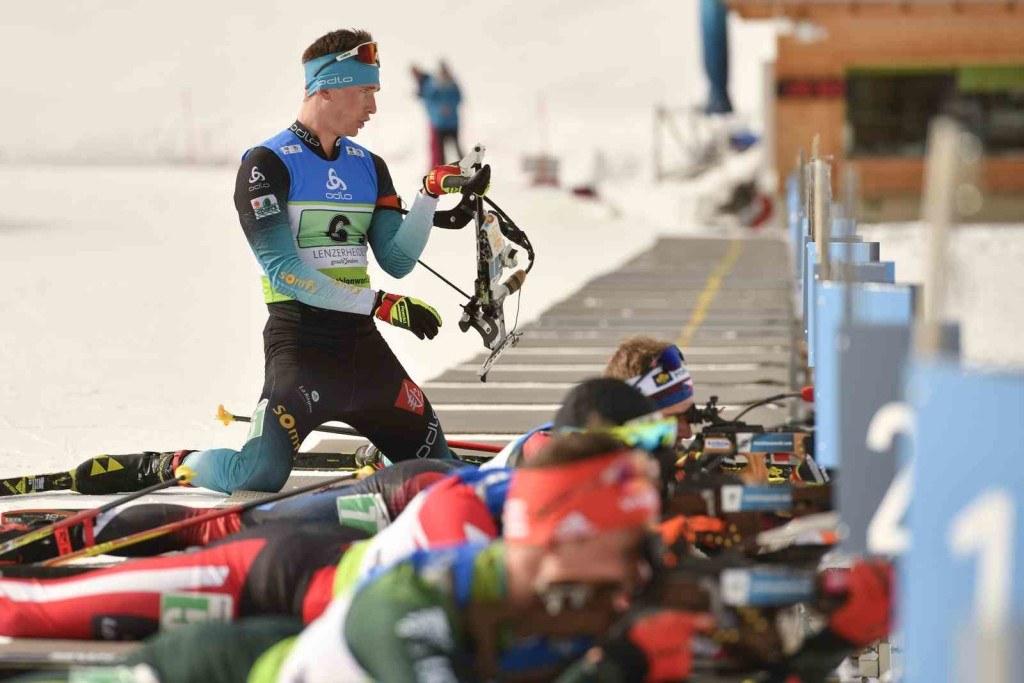 27.01.2019, Lenzerheide, Switzerland (SUI): Fabien CLAUDE (FRA-62) - IBU Cup, mixed relay, Lenzerheide (SUI). contact@vithiol.fr. © Vianney THIBAUT. Every downloaded picture is fee-liable.