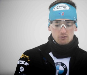 05.12.2018, Pokljuka, Slovenia (SLO): Fabien Claude (FRA) - IBU world cup biathlon, individual men, Pokljuka (SLO). www.nordicfocus.com. © Manzoni/NordicFocus. Every downloaded picture is fee-liable.