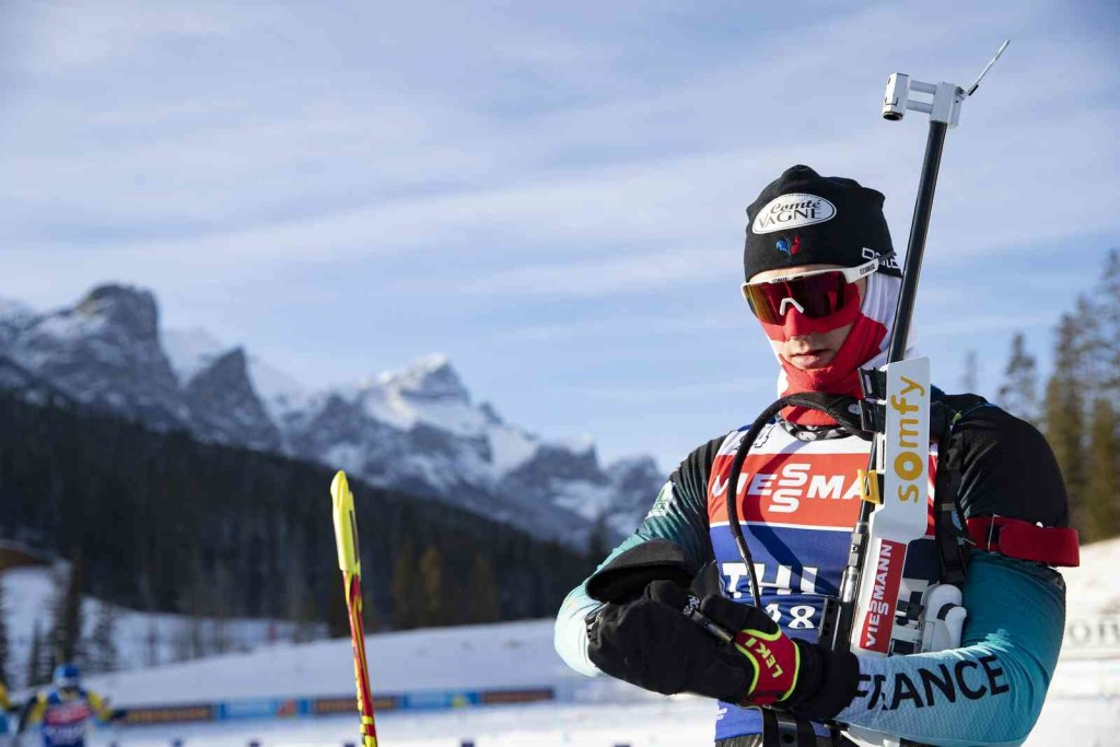 05.02.2019, Canmore, Canada (CAN): Fabien Claude (FRA) - IBU world cup biathlon, training, Canmore (CAN). www.nordicfocus.com. © Manzoni/NordicFocus. Every downloaded picture is fee-liable.