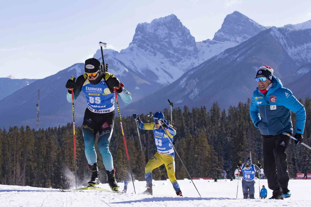 07.02.2019, Canmore, Canada (CAN): Fabien Claude (FRA) - IBU world cup biathlon, short individual men, Canmore (CAN). www.nordicfocus.com. © Manzoni/NordicFocus. Every downloaded picture is fee-liable.
