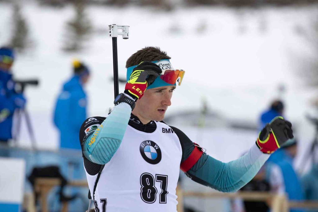 15.02.2019, Soldier Hollow, United States of America (USA): Fabien Claude (FRA) - IBU world cup biathlon, sprint men, Soldier Hollow (USA). www.nordicfocus.com. © Manzoni/NordicFocus. Every downloaded picture is fee-liable.
