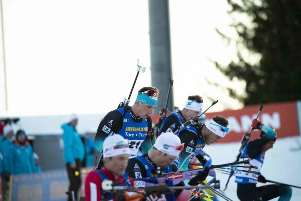 23.03.2019, Oslo, Norway (NOR): Fabien Claude (FRA) - IBU world cup biathlon, pursuit men, Oslo (NOR). www.nordicfocus.com. © Manzoni/NordicFocus. Every downloaded picture is fee-liable.
