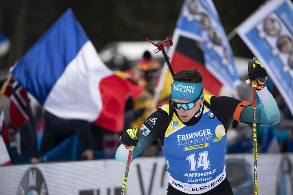 19.02.2020, Antholz, Italy (ITA): Fabien Claude (FRA) - IBU world championships biathlon, individual men, Antholz (ITA). www.nordicfocus.com. © Manzoni/NordicFocus. Every downloaded picture is fee-liable.