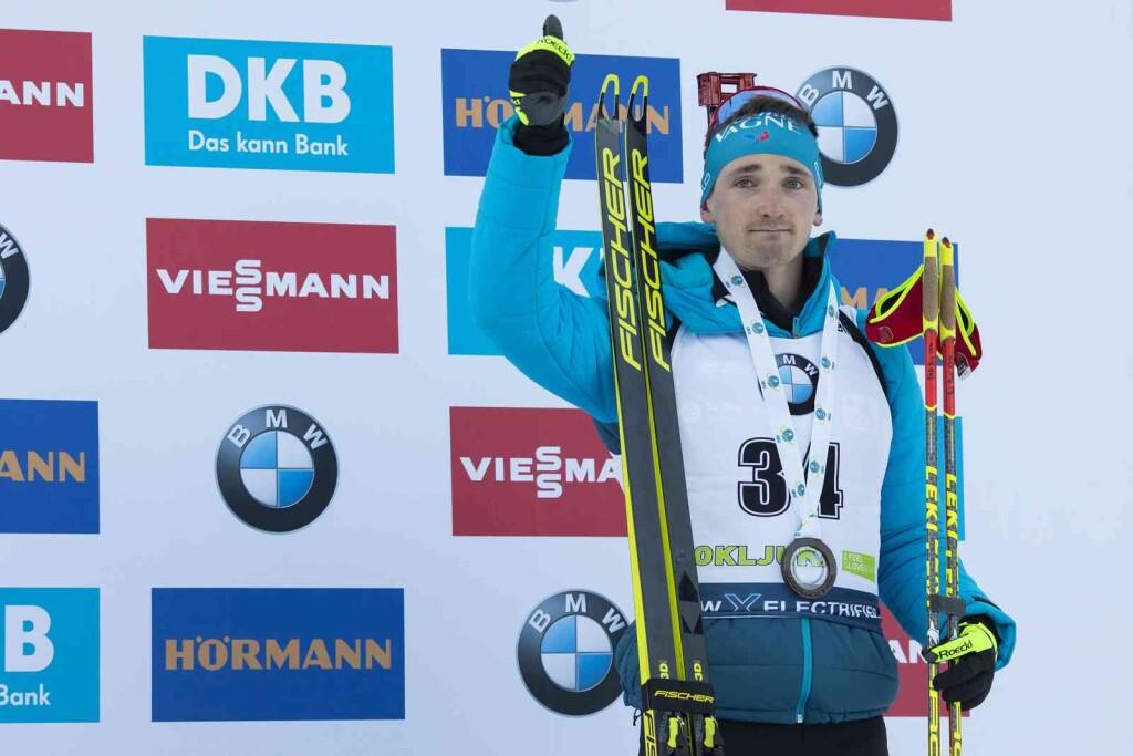 23.01.2020, Pokljuka, Slovenia (SLO): Fabien Claude (FRA) - IBU world cup biathlon, individual men, Pokljuka (SLO). www.nordicfocus.com. © Manzoni/NordicFocus. Every downloaded picture is fee-liable.